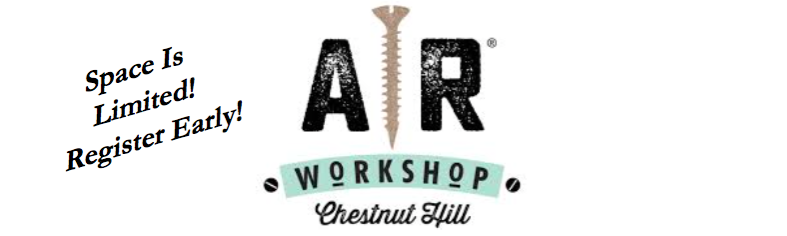 AR Workshops, June 8 & 9 - EEHSP Playground Committee @ AR Workshop Chestnut Hill